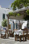 Street Scene Taverna