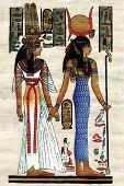 Egypt Papyrus Background