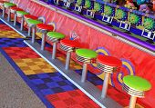 Amusement Park Stools