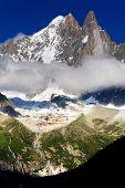 Aiguille Verte and Les Dru, Haute Savoie, France