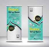 Roll Up Banner Template Design-29 poster
