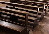Cathedral Pews