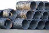Shiny Cable Wire Rolls