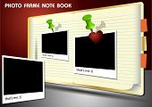 Photo Frame Note Book