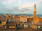 Siena Skyline. Italy, Europe poster