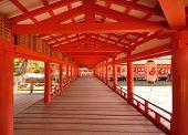 Itsukushima Shrine in Miyajima, Japan.