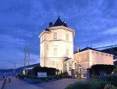 KOBE - JULY 8, 2011: The Sun Yat-Sen Hall July 8, 2011 in Kobe, JP. It is the only facility in Japan
