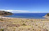 Taquile Island Bay - Titicaca Lake, Peru