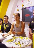 Ana Ivanovic Autograph Signing