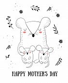 Happy Mothers Day Postcard poster
