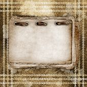 card For Greeting Or Invitation On The Abstract Background.