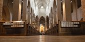turku, finland: interior of turku cathedral