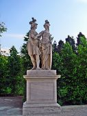 Ares And Athena At Schonbrunn