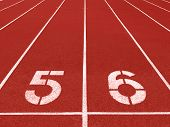 Running Track Lane