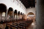 Interior Of Basilica San Giovanni Evangelista In Ravenna