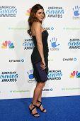 LOS ANGELES - DEC 7:  Jamie-Lynn Sigler arrives to the 2012 American Giving Awards at Pasadena Civic
