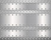 Diamond Metal Background And Plates 2