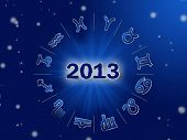 image of cancer horoscope icon  - Astro 2013  - JPG