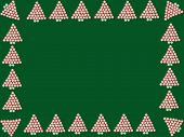 Peppermint Christmas Tree Frame