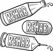 Rehab alcohol and drugs sketch