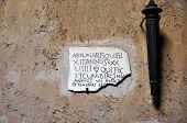 Ancient epigraph