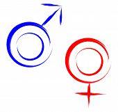 geslacht symbolen