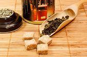 Green Tea And Sugar
