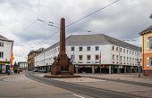 Rondellplatz In Karlsruhe, Baden-w�rttemberg, Germany
