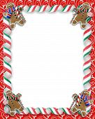 Christmas Treats Border Frame