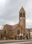 Lutherkirche In Karlsruhe, Baden-w�rttemberg, Germany