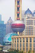 Modern Buildings In Shanghai, China