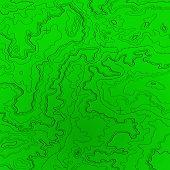 Topographic Map Radar Colors