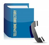 Blue Telephone Directory