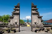 Tanah Lot Temple Gates, Bali Island, Indonesia
