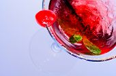 Red Martini Cocktail