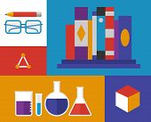 Chemistry Retro Illustration