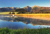 Mountain Reflection In Water - Belianske Tatry, Slovakia