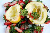 Fruits Scraps Closeup