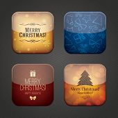 Christmas and New Year application icons