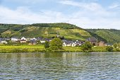 Beilstein At Mosel River,germany