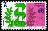 Postage Stamp Australia 1973 Stylized Caduceus And Laurel