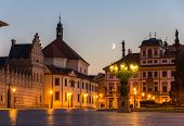 pic of tomas  - Hradcany Square in Prague  - JPG