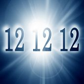 picture of doomsday  - 12 12 12 written on a soft blue background  - JPG