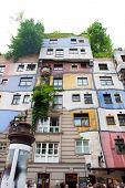 Hunertwasser House, Wien, Austria