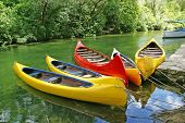 Yellow Plastic Canoes