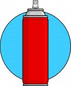 picture of spray can  - spray can - JPG