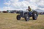 Vintage tractor display