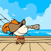 Pirate captain (raster version)