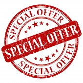 Special Offer Red Stamp