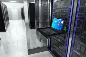 stock photo of telecommunications equipment  - Creative business - JPG